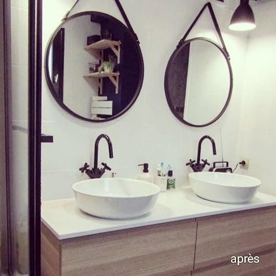 Mr & Mme L - Salle de bain & Entrée - Miramas - Après