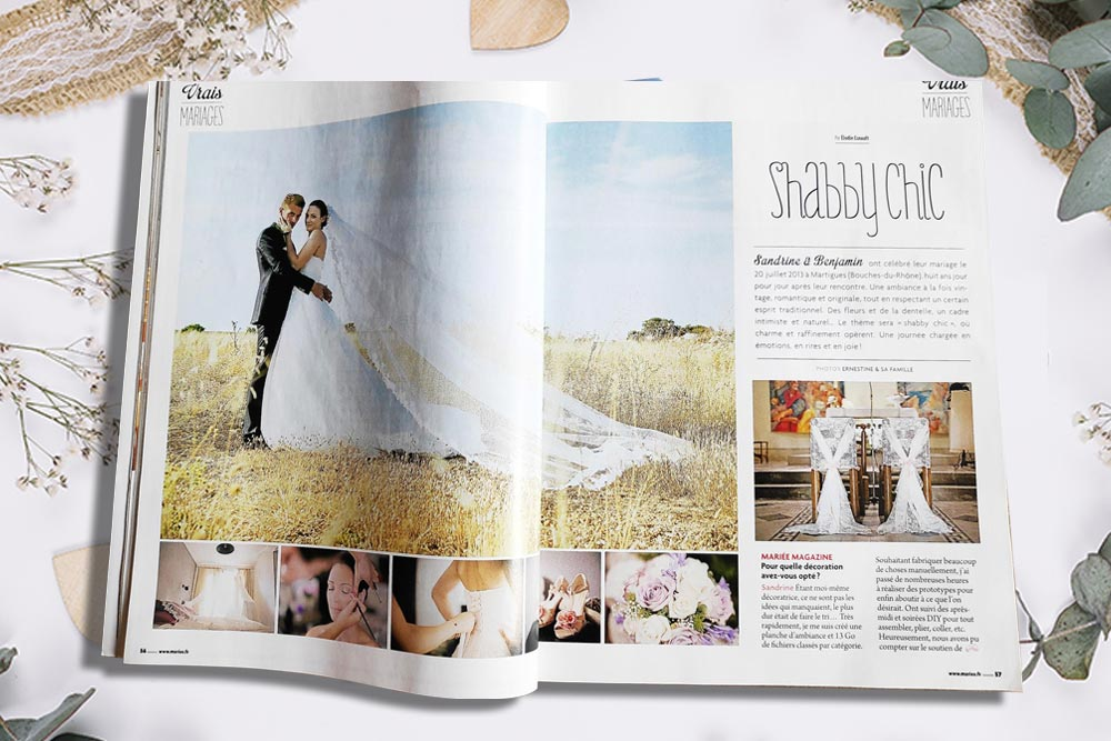 Article Mariée Magazine