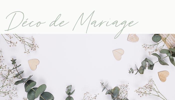 Décoration de mariage Martigues