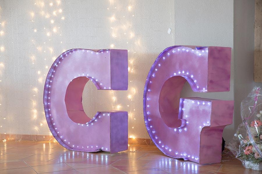 Mariage C&G - Décoration de mariage - Arles