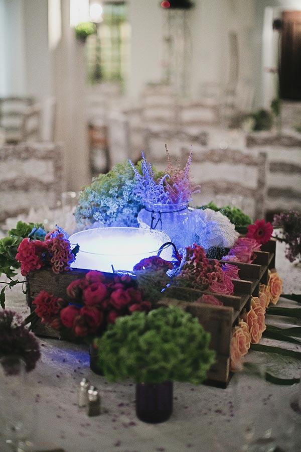Mariage de S&B - Décoration vintage mariage Provence